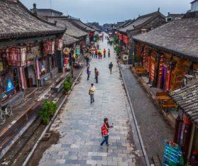 China Pingyao Humanities Landscape Stock Photo 04