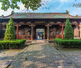 China Pingyao Humanities Landscape Stock Photo 05