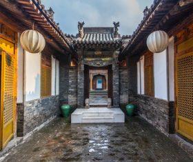 China Pingyao Humanities Landscape Stock Photo 07