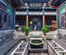 China Pingyao Humanities Landscape Stock Photo 08