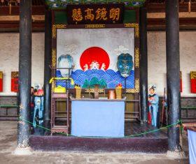China Pingyao Humanities Landscape Stock Photo 09