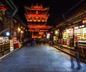 China Pingyao Humanities Landscape Stock Photo 10