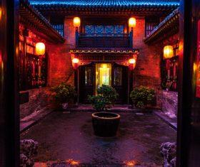 China Pingyao Humanities Landscape Stock Photo 13