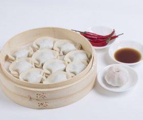 Chinese Dim Sum Dumplings Stock Photo 01