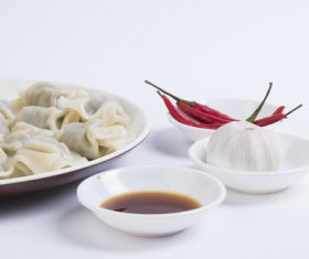 Chinese Dim Sum Dumplings Stock Photo 02