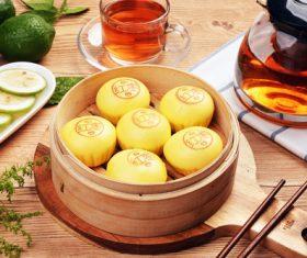 Chinese breakfast Stock Photo 02