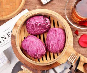 Chinese breakfast Stock Photo 03