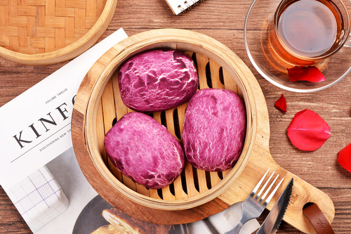 Chinese breakfast Stock Photo 03
