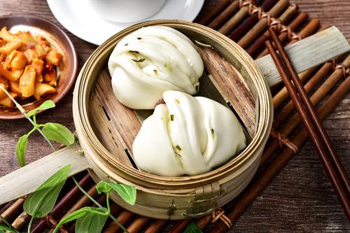 Chinese breakfast Stock Photo 09