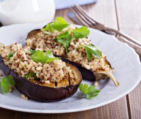 Eggplant different practices Stock Photo 04