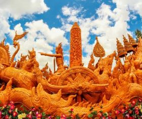 Exquisite carving float Stock Photo 11