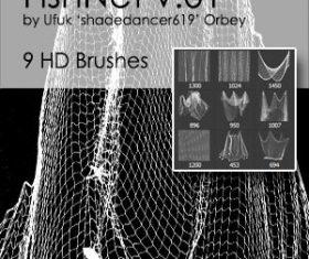 Fishnet HD Photoshop brushes