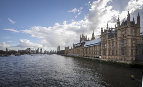 London street view UK Stock Photo 07
