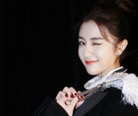 Lovely naughty Asian girl Stock Photo 01