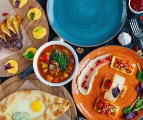 Meal food dish bowl Stock Photo