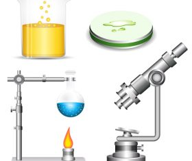 Microscope design vector set 02