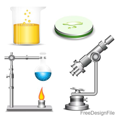 Microscope design vector set 02