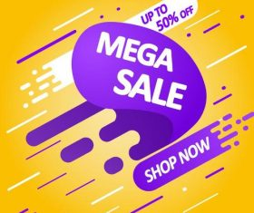 Sale special offer discount poster vector template 02