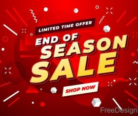 Sale special offer discount poster vector template 03