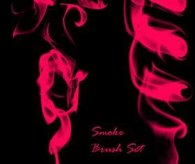 Set of Smoke Photoshop Brushes
