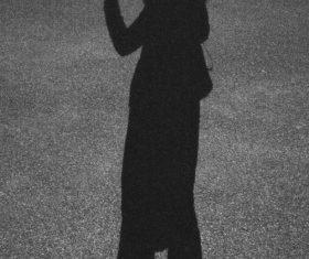 Shadows on the ground Stock Photo 03