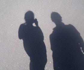 Shadows on the ground Stock Photo 06