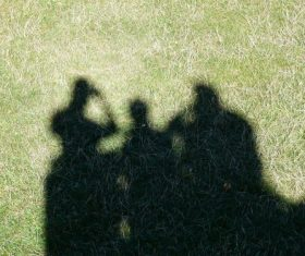 Shadows on the ground Stock Photo 11