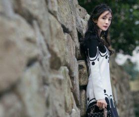 Slim and beautiful Asian woman Stock Photo