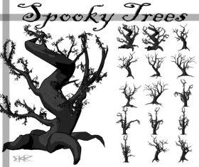 Spooky Tree Photoshop Brushes