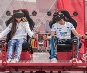 Stock Photo Virtual reality 3D glasses IT entertainment technology 03