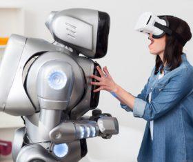 Stock Photo Virtual reality 3D glasses IT entertainment technology 06