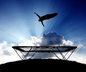 Stock Photo urban sport flip mortale 03