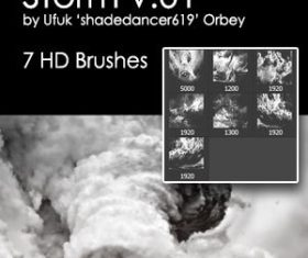 Storm HD Photoshop brushes