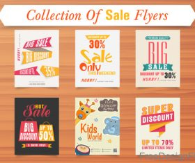 Supper discount with sale flyer template vector