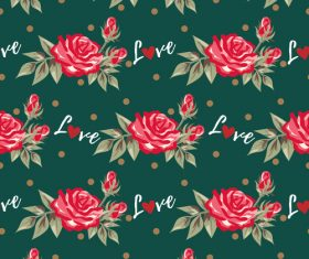 Valentines day love pattern seamless vectors 03