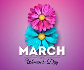 Women day festival design vectors 01