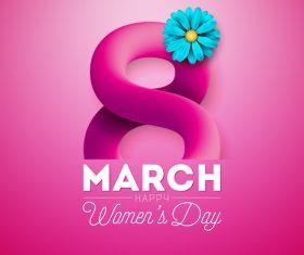 Women day festival design vectors 03