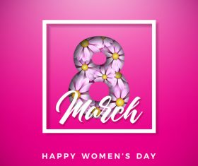 Women day festival design vectors 04