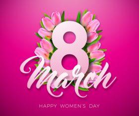 Women day festival design vectors 05