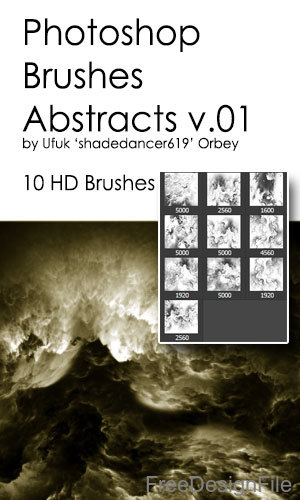 Abstracts Volcano HD Photoshop Brushes