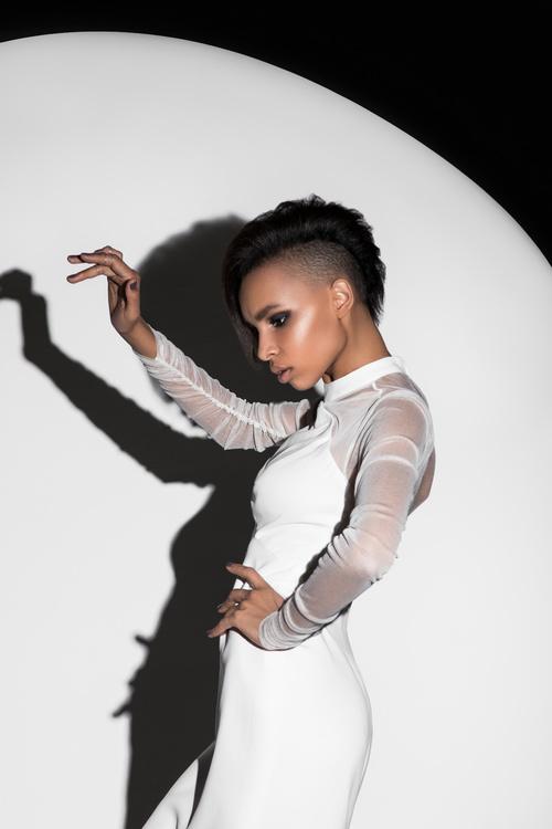 African American girl posing Stock Photo 03