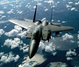 Air fighter Stock Photo 01