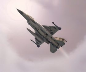 Air fighter Stock Photo 03