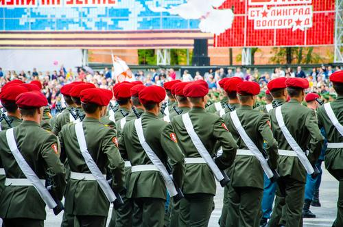 Army of different countries Stock Photo 03