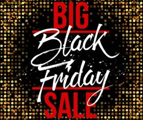 Black Friday sale with neon background vectors 03