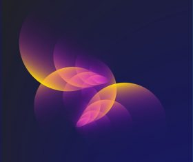 Bright Circular blurs background vectors 01