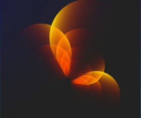 Bright Circular blurs background vectors 03