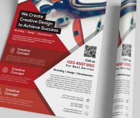 Business and Corporate Flyer PSD Template