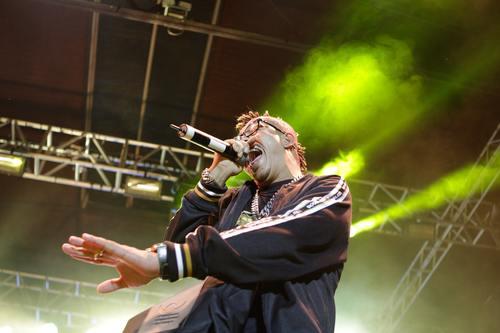 Concert singer Stock Photo 05