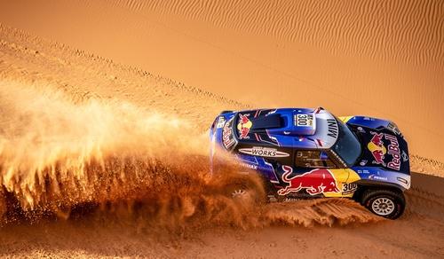 Desert Vehicle Endurance Race Stock Photo